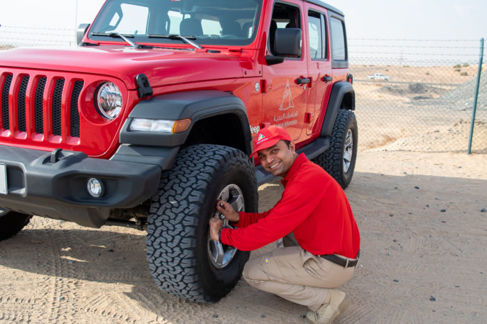 Our #1 top desert driver Ravi