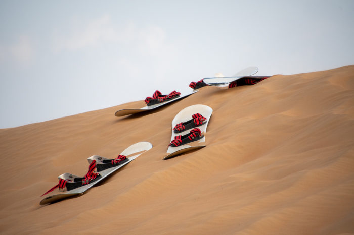Sand Boarding time