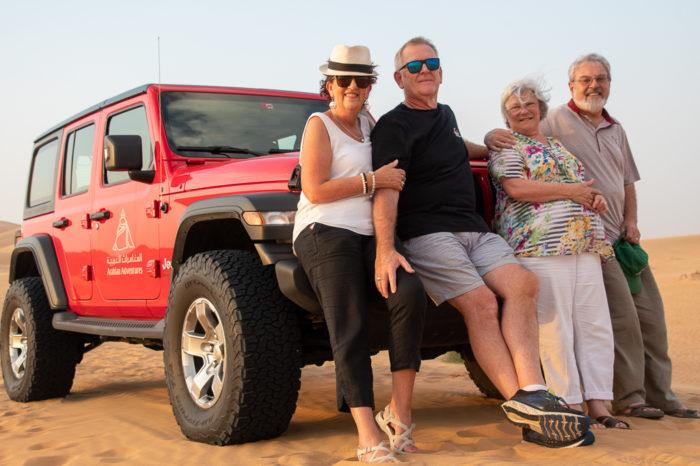 Merrisa, Neil, Martin & Joanne
