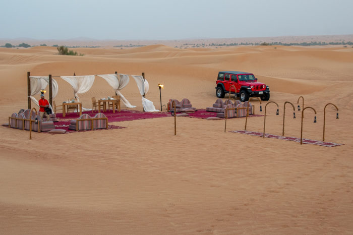 Our desert restaurant