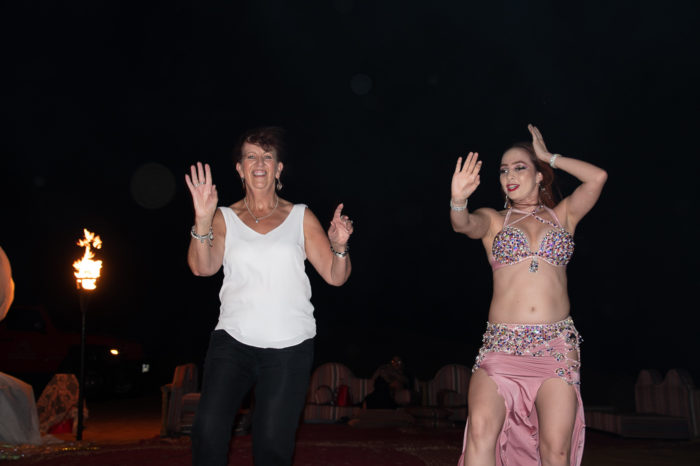 Merrisa does her belly dance