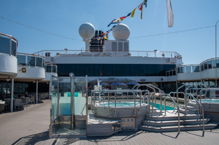 "The rear ""Lido"" deck"