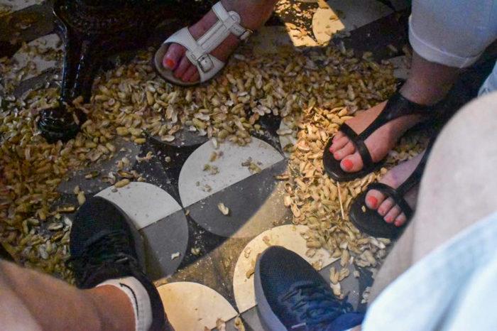 Raffles goes peanuts