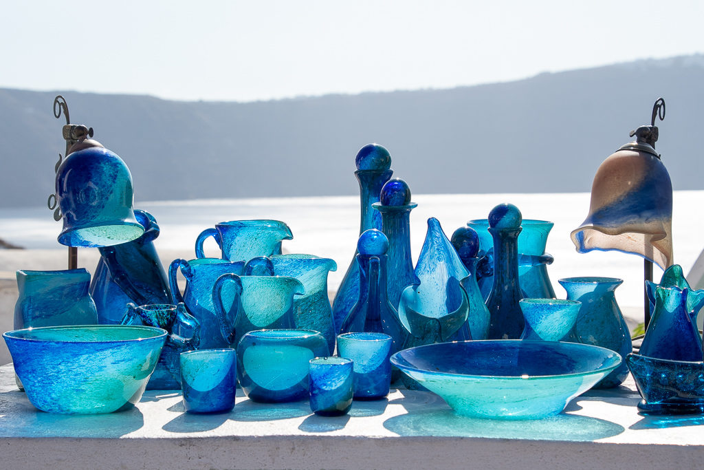 Glassware, Santorini