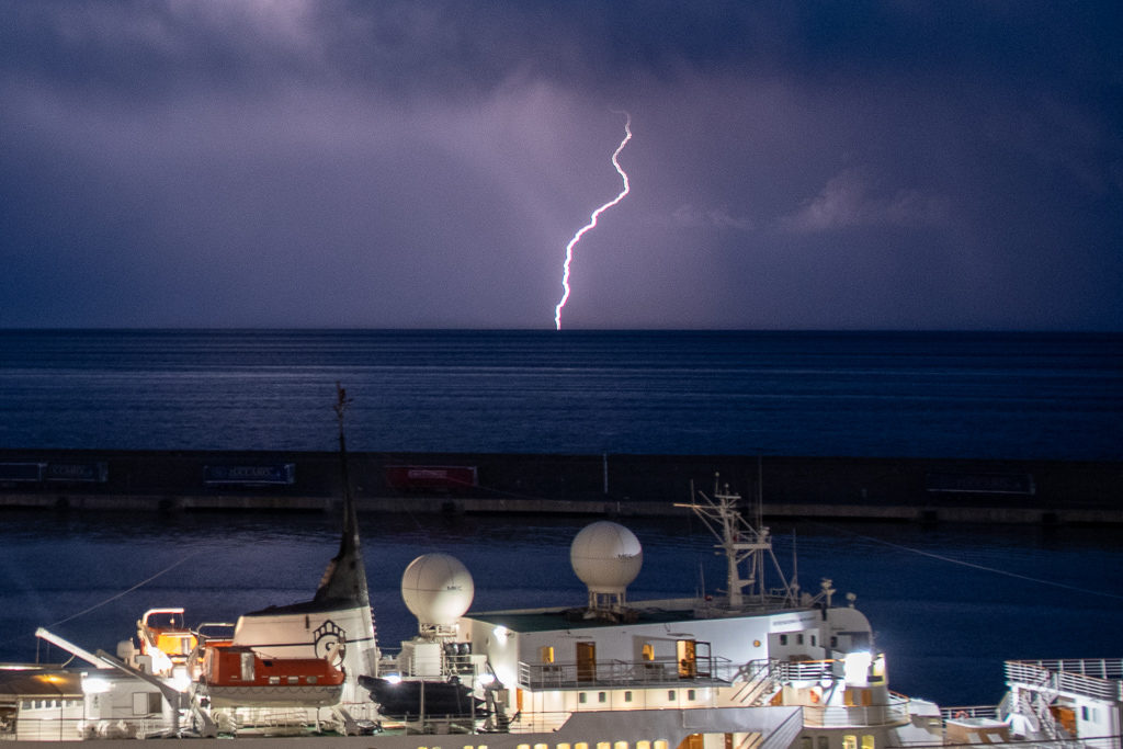 Lightning storm - Catania, Sicily
