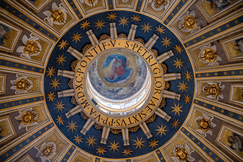 Dome of St Peter's Basilica - Vatican